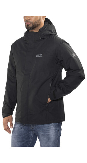 Jack Wolfskin Northern Edge Jas Heren zwart